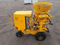 Torkretnica ALIVA 260 , FILAMOS,graco turbosol pompa do betonu