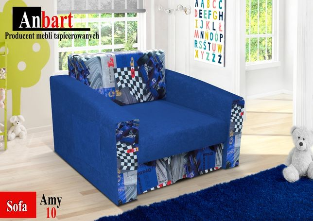sofka, fotel z funkcją spania, łóżeczko, leżanka, amerykanka, NOWOŚĆ