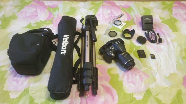Зеркальный фотоаппарат Nikon D5100 KIT + комплект