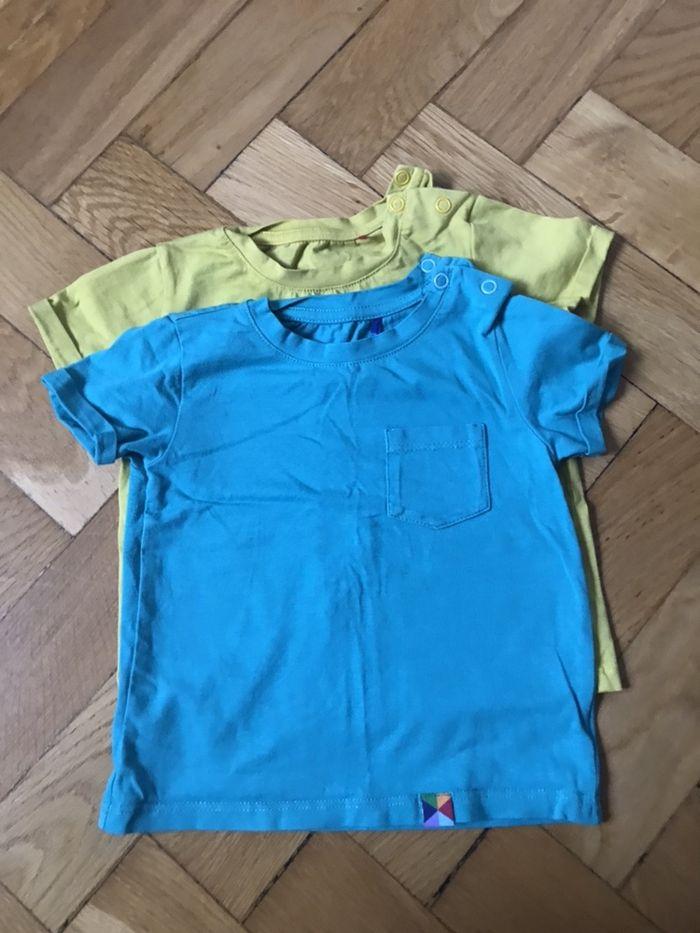 Zestaw: 2 koszulki niemowlęce Warszawa - image 1