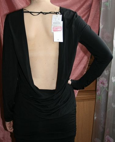 Дешево новая красивая испанская блуза Oysho открытая спина размер S