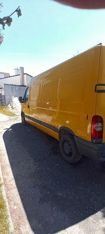 Opel Movano uszkodzony
