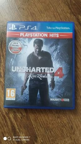 Uncharted 4 PS4. IDEAŁ