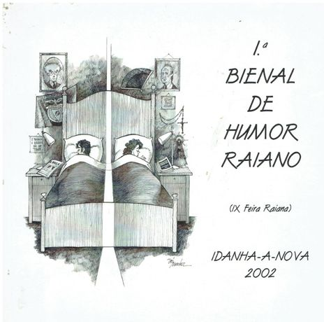 2541 - Caricaturas 1ª Bienal de Humor Raiano - Idanha-a-Nova 2002