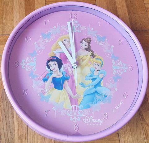 Zegar ścienny Księżniczki