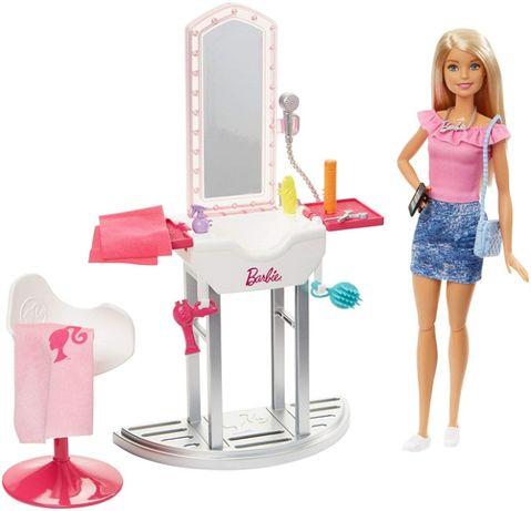 Игровой набор Барби Салон красоты Barbie Salon & Doll Оригинал