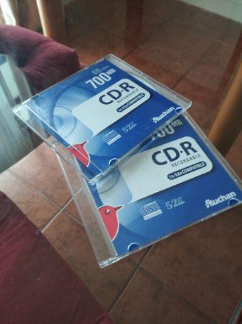 2 CD-R virgens