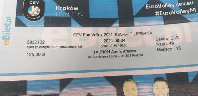Bilet EuroVolley - Mistrzostwa Europy w Siatkówce mężczyzn 2021