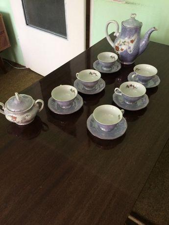 Serwis kawowy karolina Pikasiak na innej aukcji PRL