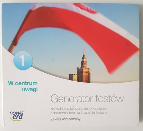 Generator testów/Książka Nauczyciela - W centrum uwagi 1 ZR