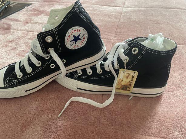 Converse All Star Pretas Cano