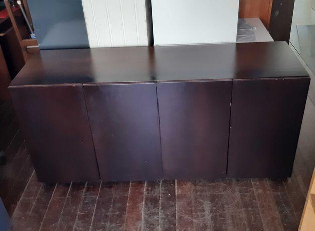 Móvel Aparador Sideboard Madeira 167x50x78cm