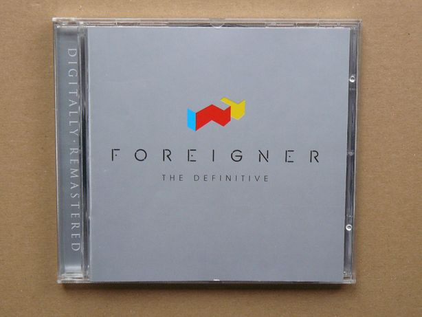 cd Foreigner - The Definitive.. 2002 Warner 1wyd.EU tłocz.Germany