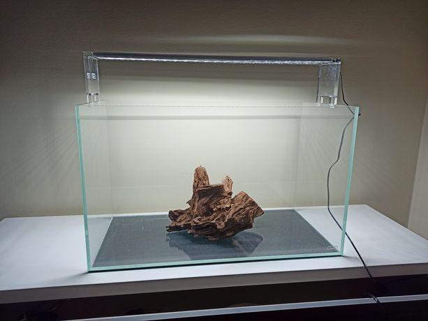 Aquário e calha luminosa ADA 60 p