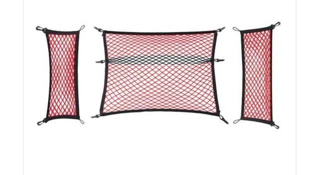 3-częsciowy system siatek bagażnika dla Skoda Octavia 3 (lim/kombi),
