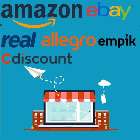 Sprzedaż e-commerce na Amazon ebay cała Niemcy Europa. Dla producentów