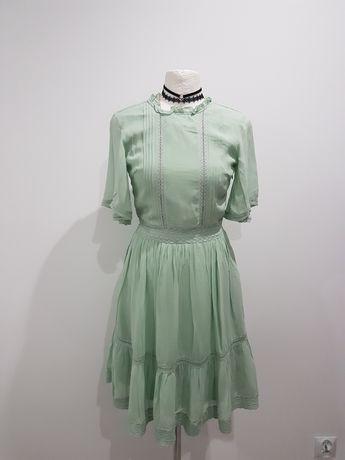 Nowa miętowa sukienka