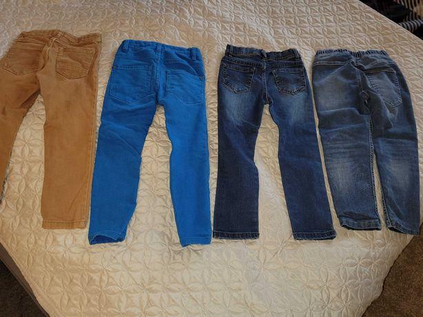 Spodnie chłopięce 110cm