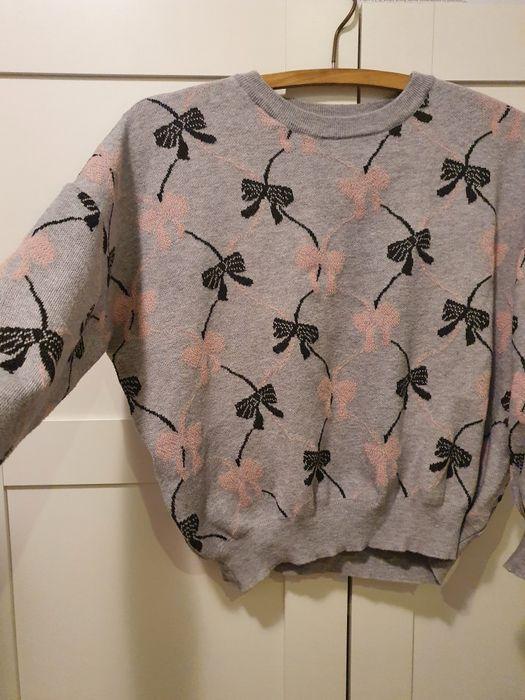 Sweter w kokardki szary M Opole - image 1