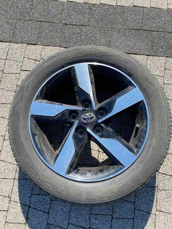 Alufelgi + Opony zimowe Toyota / Czujniki 205/55/r16