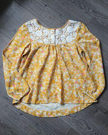 Nowa bluzka koszula bluzeczka boho h&m, rozm. 122 / 128