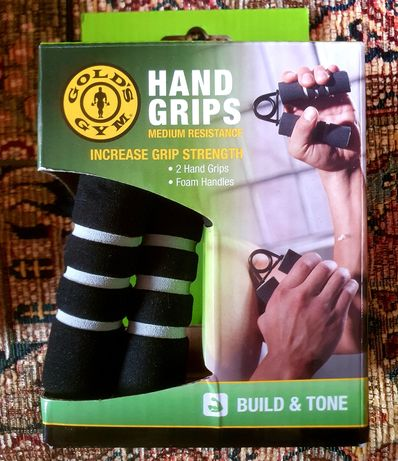 GOLD GYM hand grips NOWE