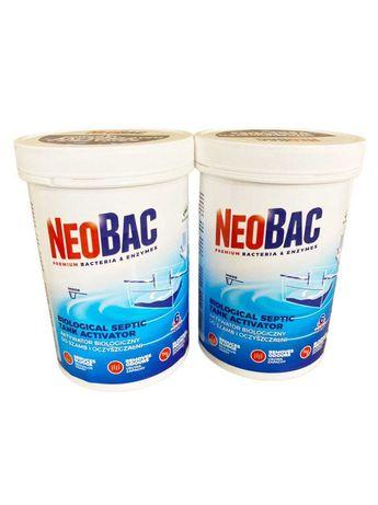 Биосредство NEOBAC 1200 г. на 1год. для уличных туалетов, септиков, ям