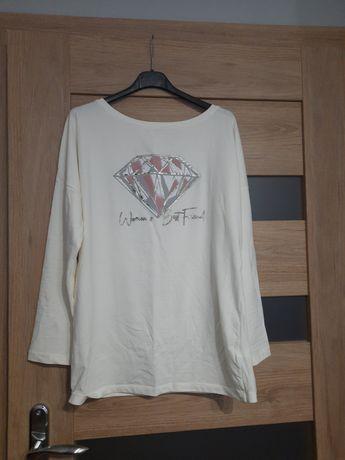 Bluzka biała/kremowa uniwersalna