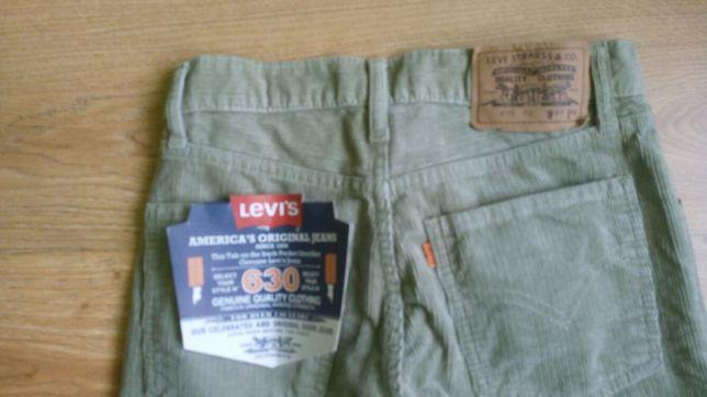 Spodnie sztruksowe levis