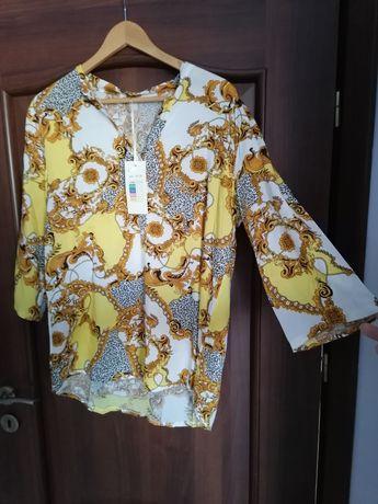 Bluzka koszulowa letnia r. 42 NOWA