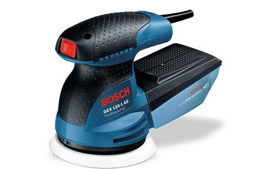 Lixadora Excêntrica Bosch GEX 125-1 AE Professional Amora - imagem 1