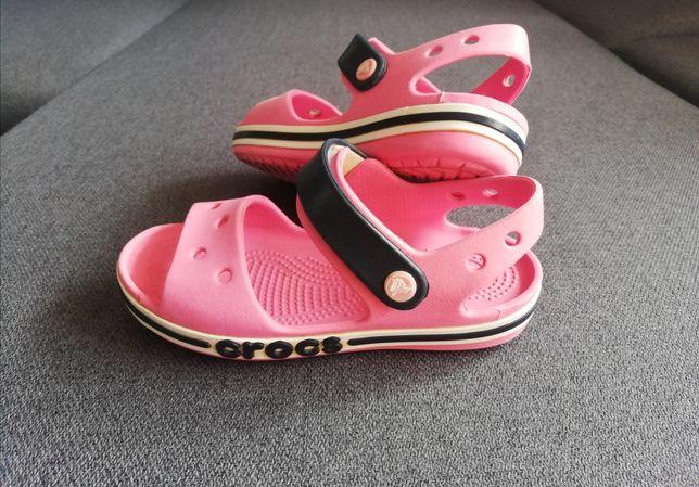 Sandały CROCS różowe