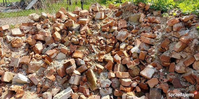 Przyjmę gruz budowlany cegły krawężniki piaskowiec
