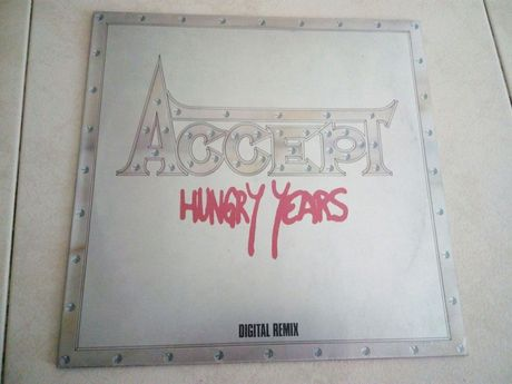 "Accept - "" Hungry Years "" ... Lp em vinil"