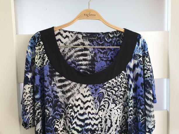 Piękna bluzka bluzka XXXL tunika Emanuel 50/52 /54 biust 145-165