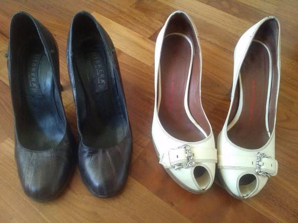 Женские кожаные туфли Италия 36,5 размер