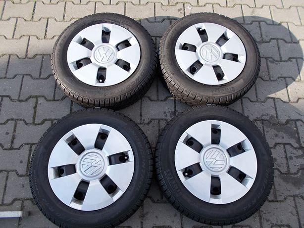 Opony zimowe z felgami 4x100 5Jx14 ET35 VW,SKODA,SEAT ,(K2)