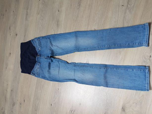 Spodnie ciążowe h&m jeansowe rozm 36 S