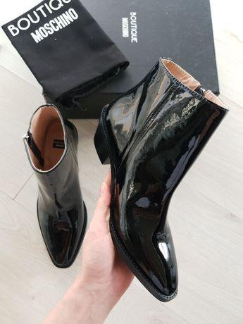 Ботильоны MOSCHINO boutique Ботинки Кожа 36/37 размер Оригинал