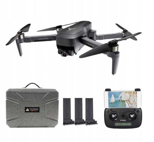 Profesjonalny dron SG906 PRO GPS WiFi 2xkam 4K Gimbal 1,2km 3xBATERIA