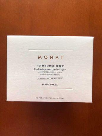 Monat, Berry Refined Scrub Perfectig Exfoliator Mask (Scrub do twarzy)