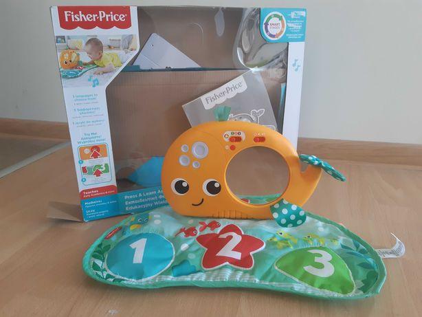 Zabawka edukacyjna interaktywna Fisher Price wielorybek
