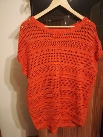 Sweterek siatkowy