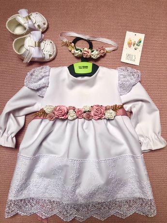 Sukienka na chrzest Spell's Little Fashion