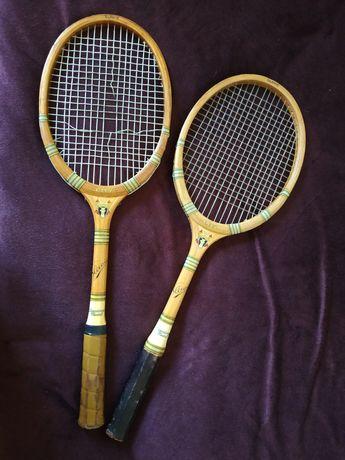 Ракетки для большого тенниса, из 50-ых годов