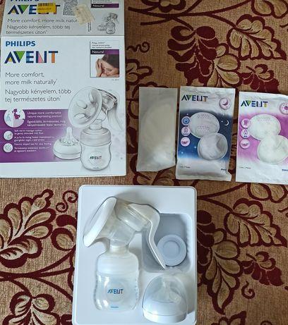 Молокоотсос ручной Philips Avent + подарок