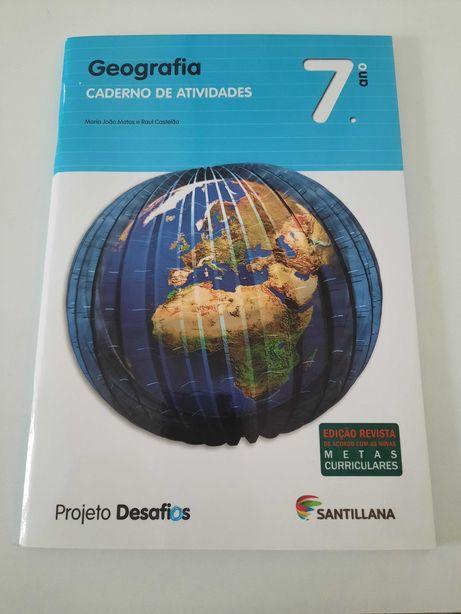 Projeto Desafios - Geografia - 7º ano - Caderno de atividades
