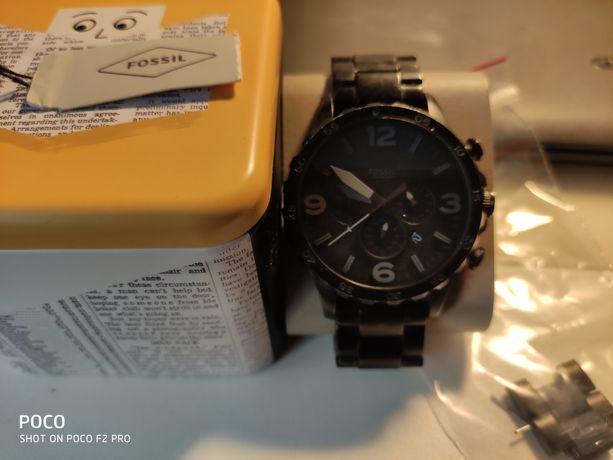 Zegarek Fossil czarny