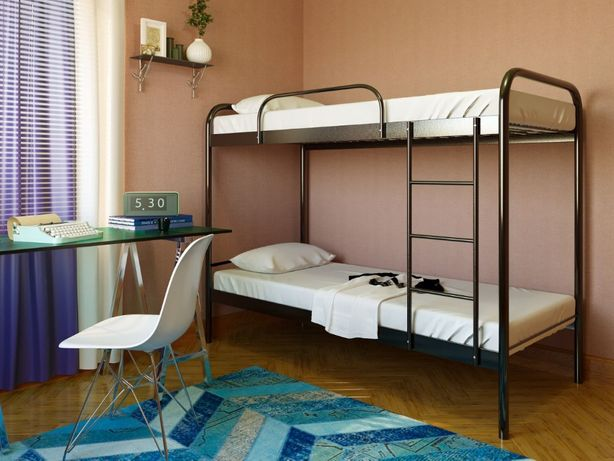 Двухъярусная металлическая кровать Relax Duo Релакc Бесплатная достав.