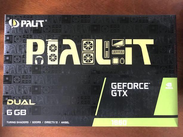 Placa Grafica Palit GeForce GTX 1660 6 GB GDDR5